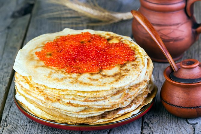 Private Cooking Class: Russian Shchi soup and Blini with Red Caviar photo 1