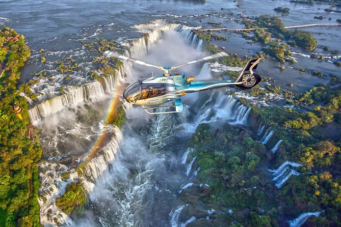 Iguazu Falls Panoramic Helicopter Flight With Optional Transfers