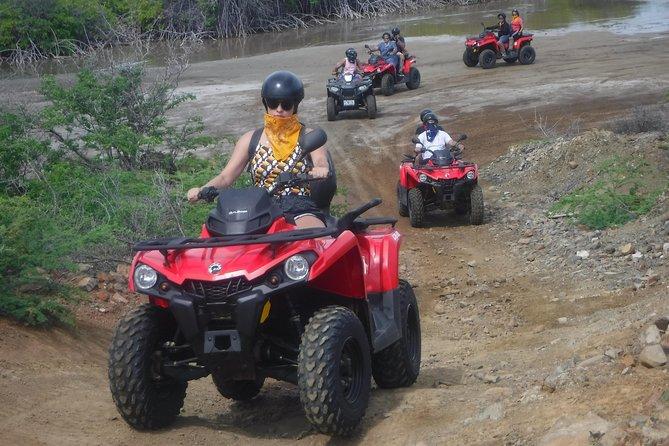 Curacao Half Day ATV Adventure Double seat ATV Tour
