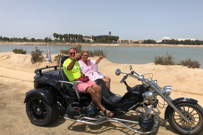 "Luxury Rewaco Trike ""The Majestic Flamingo Tour"" - (2 hours, min of 2 passenger)"