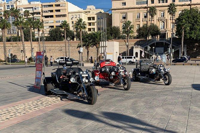 "Luxury Rewaco Trike ""The Mar Menor Vistas Tour"" - (2 hours, Min of 2 passengers)"