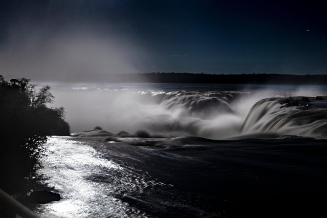 Excursion to Iguazu Falls Brazilian Side + Full Moonlight Walking Tour