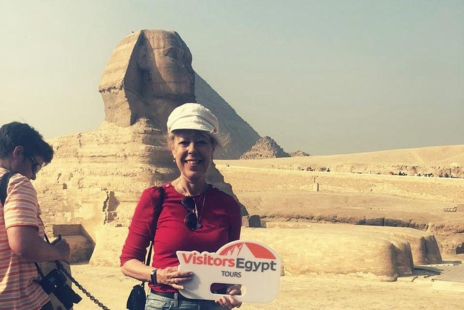 Day Tour at Giza Pyramids & Sphinx