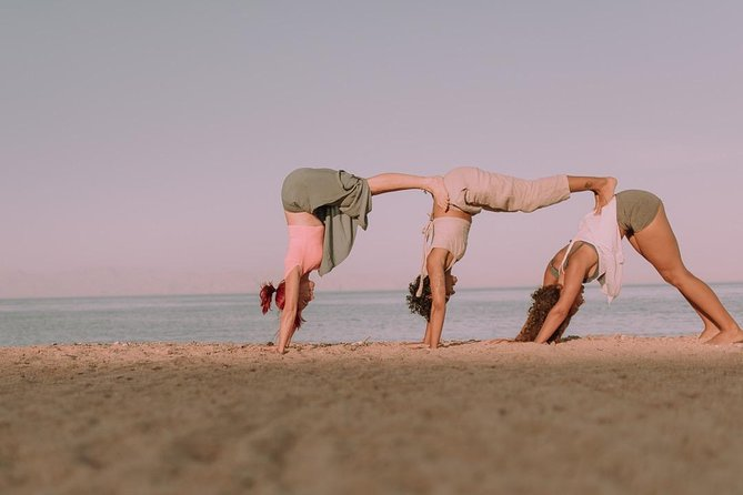 Yoga on the beach Costa Teguise photo 7