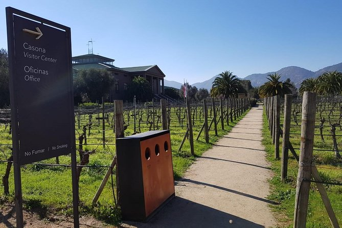 Casona Viña Veramonte Tour from Santiago (half day)