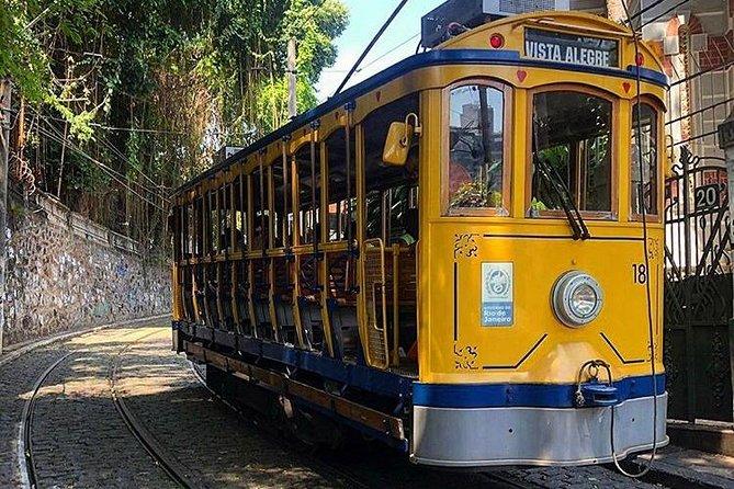 Walking tour of the bohemian neighborhoods of Santa Teresa and Lapa + tram