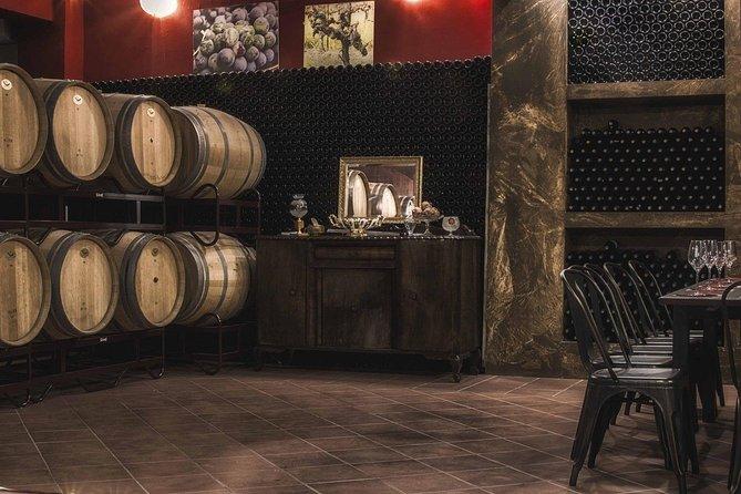 Wine taste in Bairaktari winery at Nemea