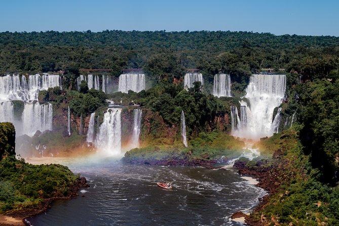 Iguazu Falls Argentinian Side + Cathamaran Parana River + Dinner Tango Show