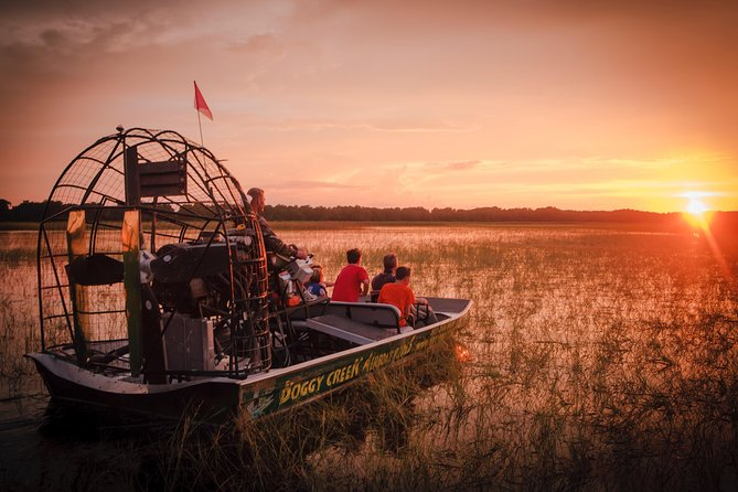 1-Hour Sunset Airboat Ride
