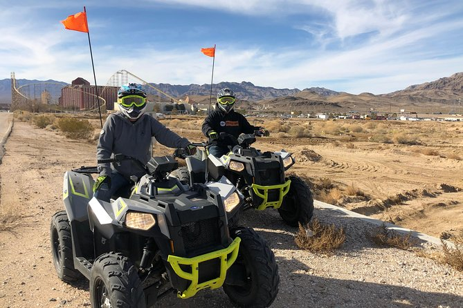 Hidden Valley and Primm ATV Tour