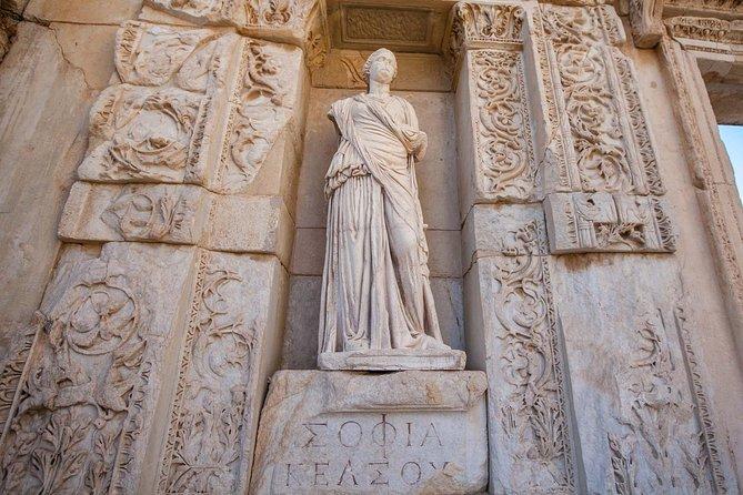 Private Tour from Kusadasi to Archaeological Sites of Ephesus, Gazibegendi Hill