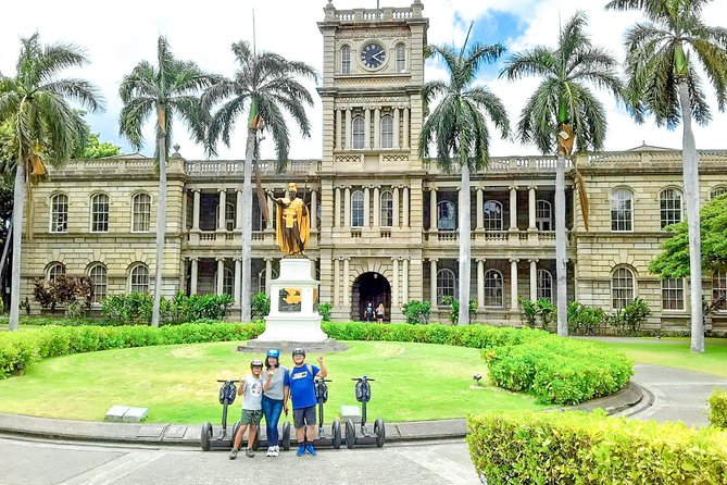 Historical Honolulu & Chinatown Segway Tour