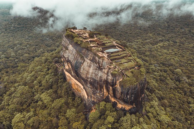 """Private 1 day Tour """"Sigiriya & Dambulla Cave Temple"""" with Entrance fee & Lunch"""