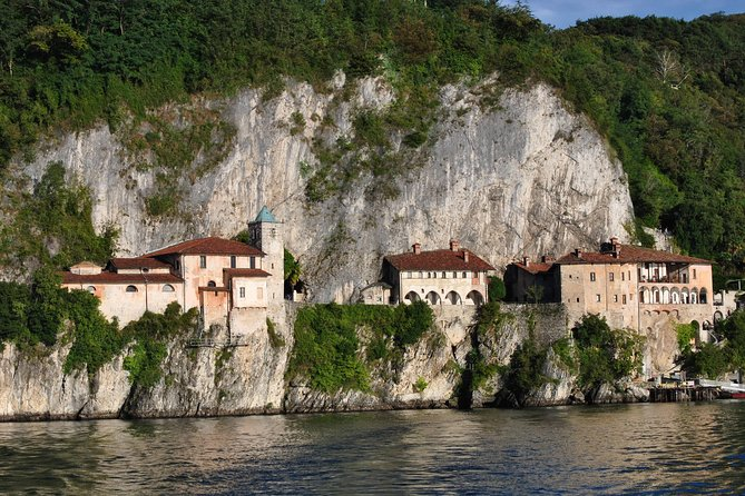 Lake Maggiore - Hermitage of Santa Caterina - view from the lake
