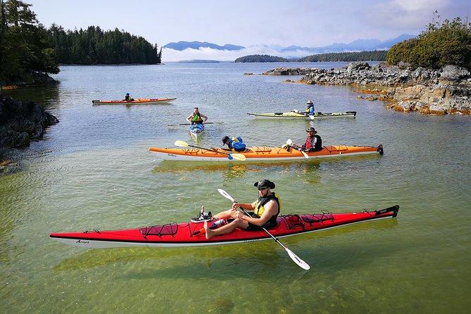 Queer Kayak Adventure - Broken Group Islands 4 Days - July 23-26