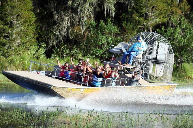 Boggy Creek Airboat Adventures One Hour Airboat Tour near Orlando, Florida