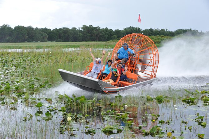 VIP Private Airboat Tour