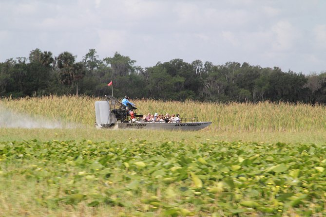 30-Minute Airboat Ride, Lunch, Gem Mining and Park Admission