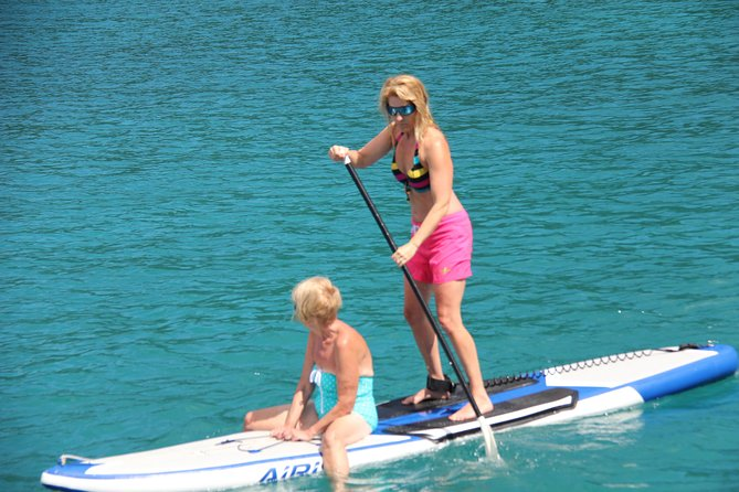 Paddle Board St Maarten Catamaran Charter