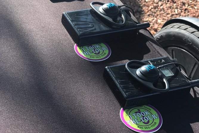 Headsets for each rider, plus exclusive savings stickers!