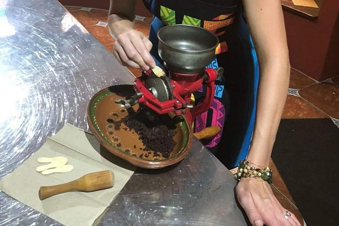 Chocolate Factory, Mayan Culture & Mexican lunch.