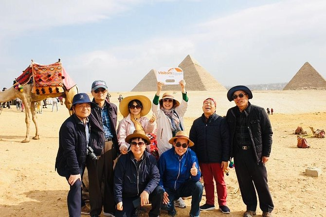 Sensational Day Tour in The Pyramids of Giza and the Egyptian Museum