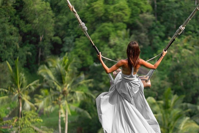 Private Half Day : Wonderful Ubud and Jungle Swing Tours