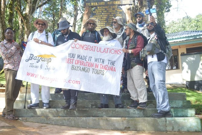 7 Days Mountain Kilimanjaro climb Machame Route