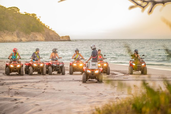 Tamarindo Beach & Jungle Private ATV Tour + Zipline Canopy Tour