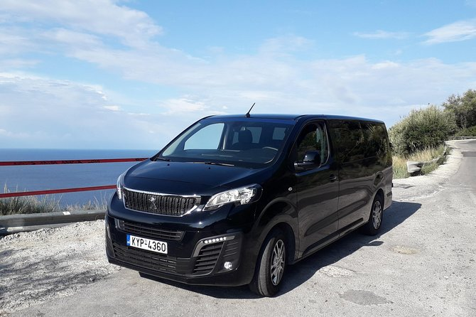Transfer service from Athens to Corfu