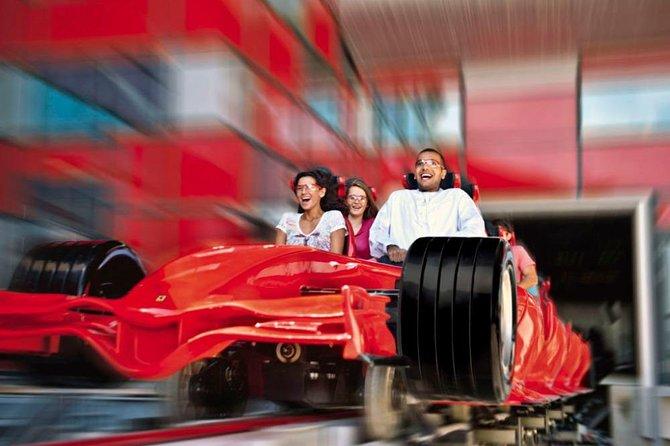 Ferrari World Theme Park Abu Dhabi Admission Ticket
