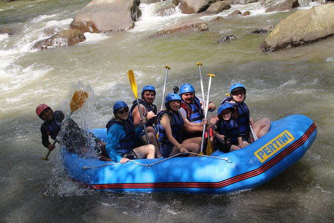 Bali Ayung River Rafting with Free Return Transfer and Lunch