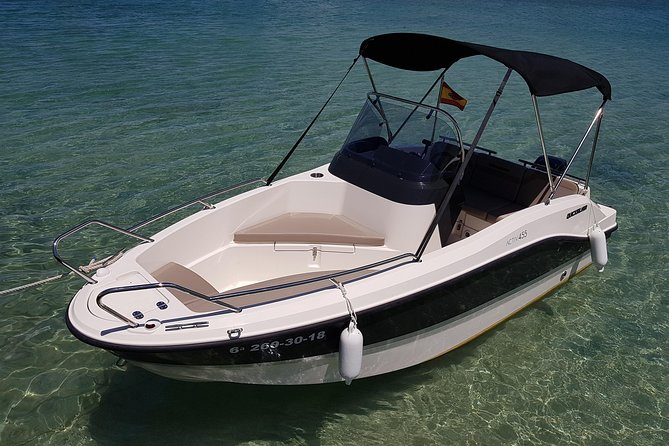 Boat rental without license - B455 'Theia' (4p) - Can Pastilla
