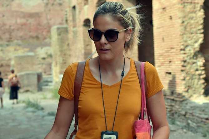 Discover the Archaeological Ruins of Ostia Antica with Local Guide Maria Rita