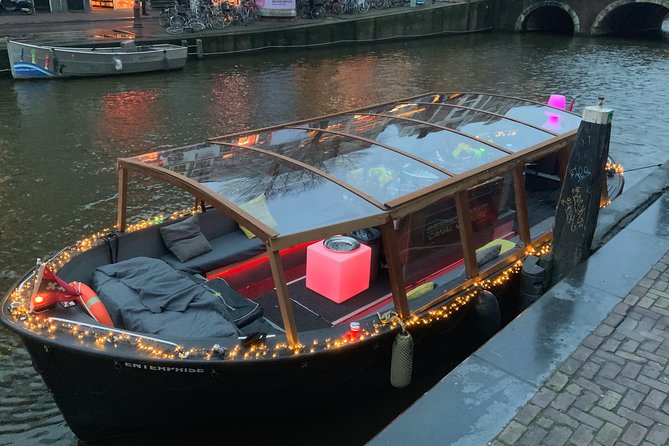 €20 per person Amsterdam Boat tour. Welcome back!!