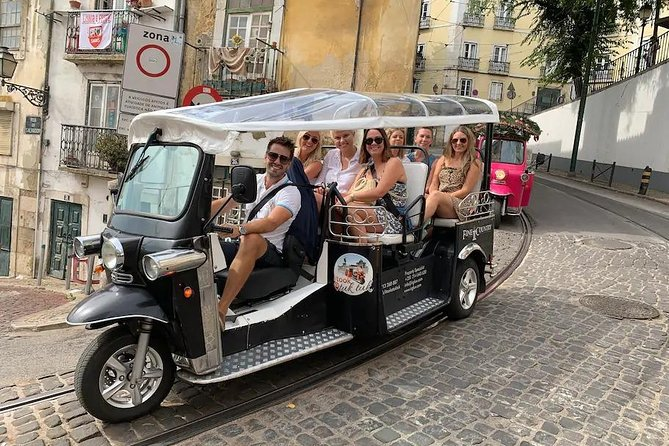 True 4Hour/Half day TukTuk Tour of Lisbon. A Remarkable Overview. Leave town as a Local