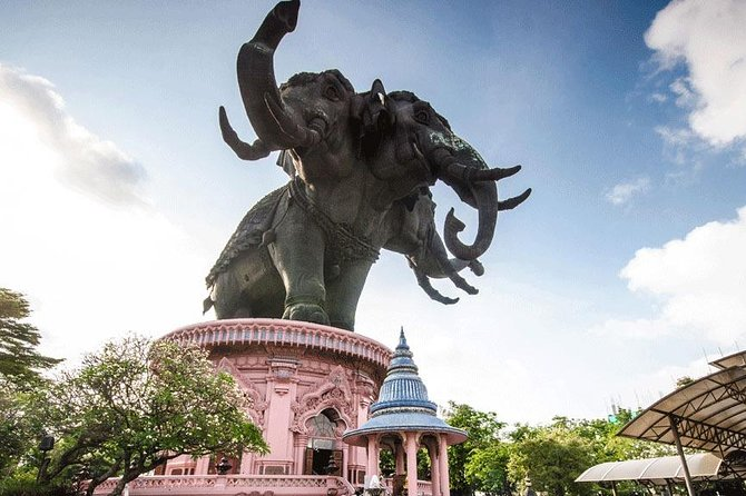 Ancient City + Erawan Museum + Seagull Feeding + Night Market Ratchada by SBK