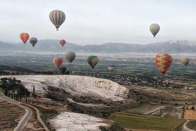 Private Pamukkale Tour From Kusadasi with Hot Air Balloon
