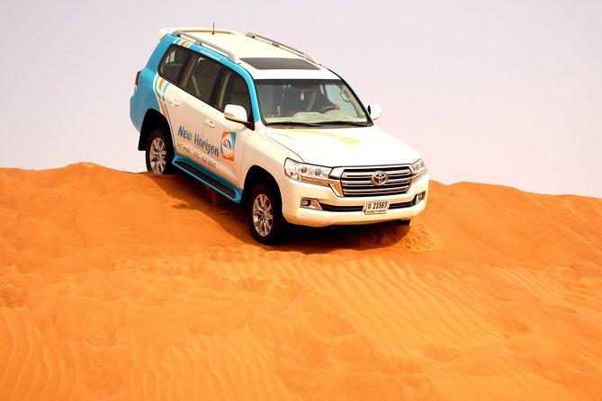 Premium Red Dune Safari with sandboarding, camel ride,Dinner and entertainment