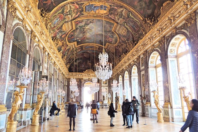 Palace of Versailles Half Day Guided Tour including Gardens Access