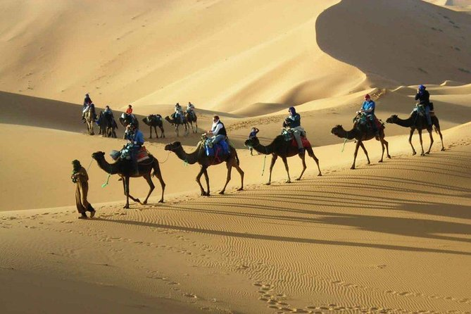 3-days private circuit in the desert from Fez to Merzouga and back to Marrakech