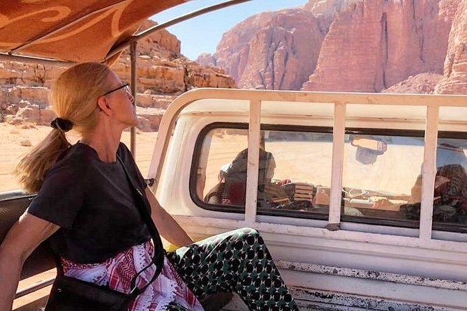 Full Day Jeep Tour - Wadi Rum Desert Highlights