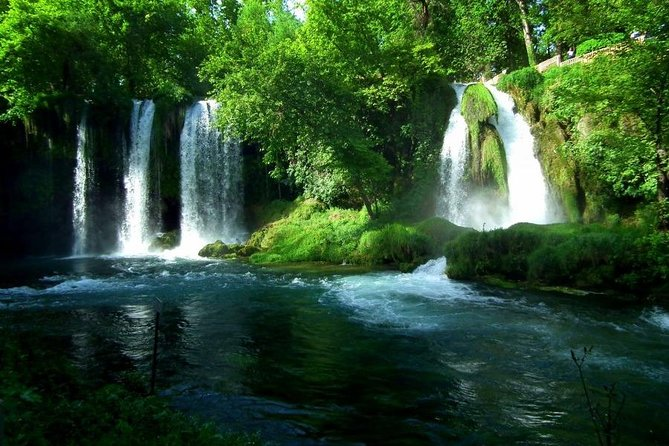 Antalya City and Waterfalls Tour with Lunch
