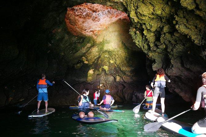 SUP Tour Lagos Grottos & Caves