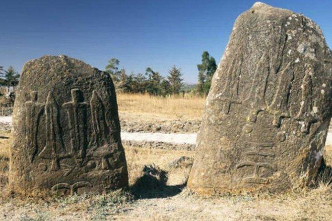 Addis Ababa – Adade Mariam rockhewn Church and Tiya