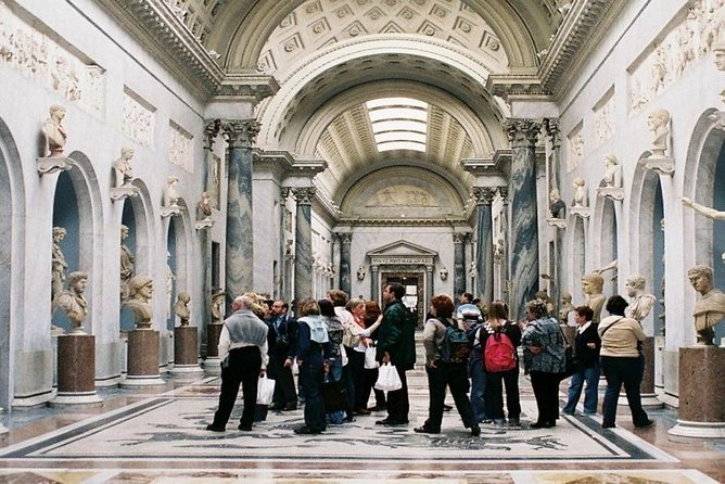 "Vatican Museums, Sistine Guided Tour ""semi-private"""