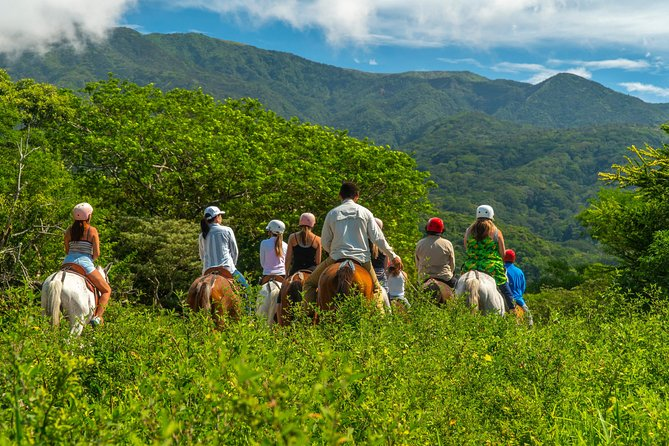 Deluxe & Private Zipline, Horseback Riding, Waterfall and Hot Springs