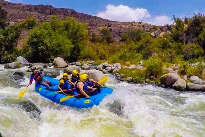 Rafting - Canoeing Rio Chili- Arequipa - Half Day