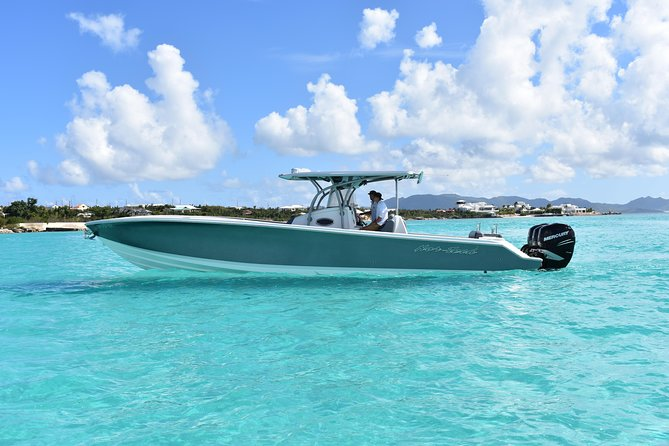 Full Day Private Charter - St Barths - Speedboat