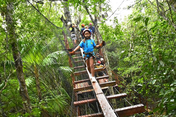 Cancun ATV, Ziplines and Cenote Tour at Extreme Adventure Eco Park